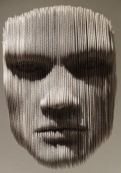 Toilet Paper Art Sculpture