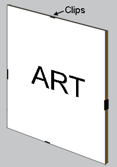 Frameless Ways To Display Your Artwork