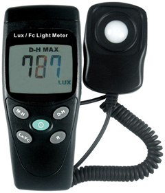 Good A Light Meter, Used For Measuring The Amount Of Light Emitted By A Light  Source Images
