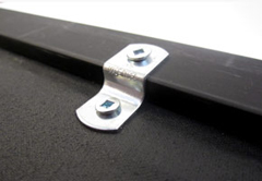 offset clips for picture framing