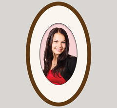 Oval Picture Frames Usa