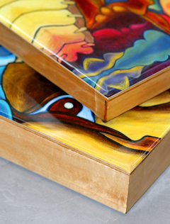 Usa Birch Wood Cradled Panels For Art Projects