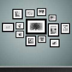 wall art multi picture frames art matboard options
