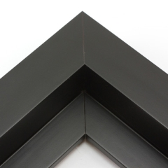 this large profile l shape floating canvas frame features a wide 15