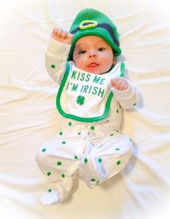 St Patricks Day Irish Green Perfect Gift Idea Canvas Prints