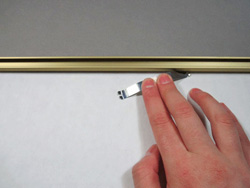 Usa Metal Frames How To Mount Your Artwork Inside A Metal Frame